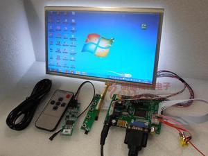 Image 3 - Alle Nieuwe 10 inch 1024*600 Raspberry Pi 3 LCD Touch Screen Kit Backing Auto Monitor Set HDMI VGA USB AV Remote
