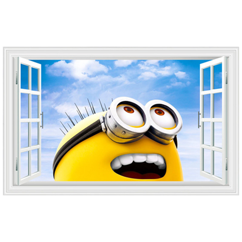 Wall Decals Minions PromotionShop For Promotional Wall Decals - Minion wall decals