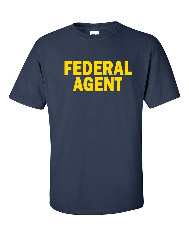 À Manches courtes col Rond Top Tee Agent Fédéral Hommes T-Shirt de NAVIRES  DE OHIO USA T chemise 48b5ef90f24