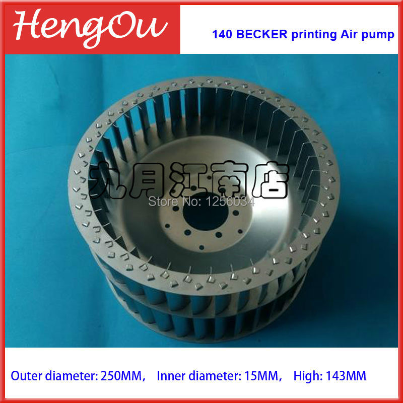 1 piece 140 BECKER printing Air pump, Vacuum fan, Cooling wind wheel