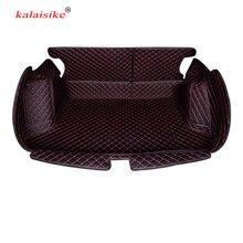 Kalaisike Personalizado mat mala do carro para Mercedes Benz todos os modelos C ML GLA GLE R A B GL GLS GLC CLA classe auto styling acessórios