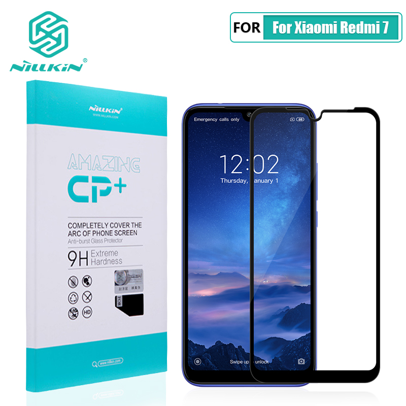 Redmi 7 glass screen protector full covered Nillkin CP+/H 9H 0.33mm for xiaomi redmi 7 tempered glass curved 6.26 Redmi Y3Redmi 7 glass screen protector full covered Nillkin CP+/H 9H 0.33mm for xiaomi redmi 7 tempered glass curved 6.26 Redmi Y3