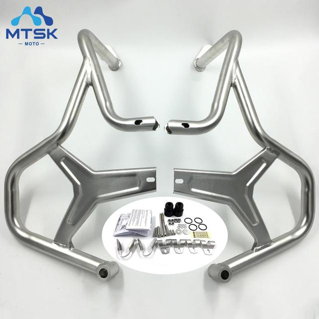 $ US $110.35 New 2018 R1200GS ADV Upper Engine Highway Guard Crash Bar Bumper Frame Protection For BMW R1200 GS Adventure 2014 2015 2016 2017