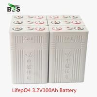 4 ADET 3.2 v 100AH CALB Lifepo4 pil yüksek kapasiteli 12.8 v paketi Güneş Enerjisi motorscycle, elektrikli araç UPS güç kaynağı