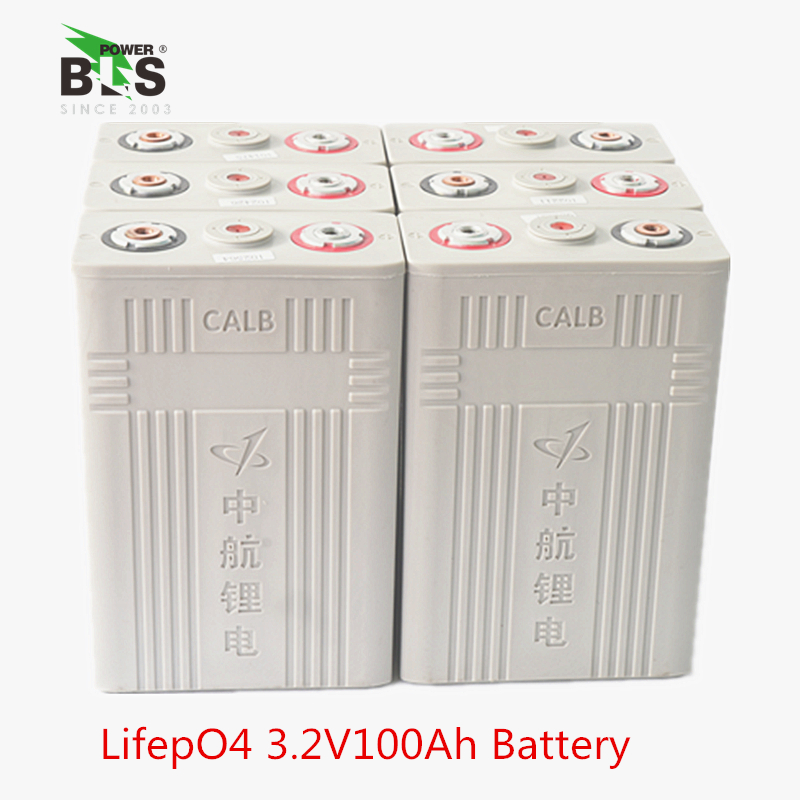 4 PCS 3.2 v 100AH CALB Lifepo4 batteria ad alta capacità per 12.8 v pacchetto energia Solare motorscycle, veicolo elettrico UPS di alimentazione