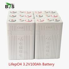 4 шт. 3,2 В 100AH CALB Lifepo4 высокомощный Аккумулятор для 12,8 В пакет солнечной энергии мотоцикла, Электромобиль UPS питания