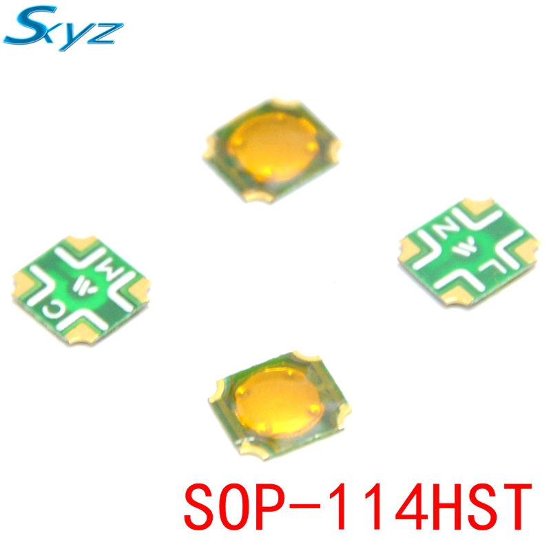 купить 10Pcs Tact Switch SMT SMD Tactile membrane switch PUSH Button SPST-NO 6mmx6.5mmx0.5mm SOP-114HST по цене 108.8 рублей