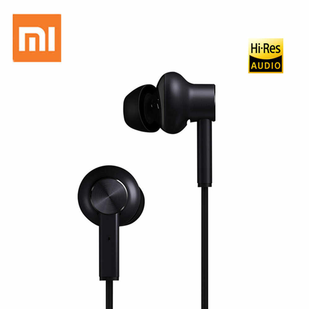 Xiaomi 3.5 mm ANC Earphones Hybrid 3 Unit 2 Grade Noise Cancel Active Noise Cancelling Wired Metal Clamp Hi-Res Earphones
