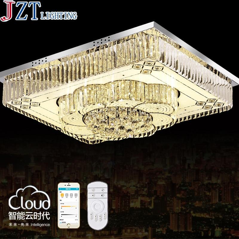Z Müasir Uzaqdan İşıqlandırma Aydın LED K9 Kristal Tavan - Daxili işıqlandırma - Fotoqrafiya 2