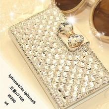 for iphone8 iphone x iphone8 Plus Rhinestone leather wallet case with stand for iphone X diamond case for iphone 7 7plus