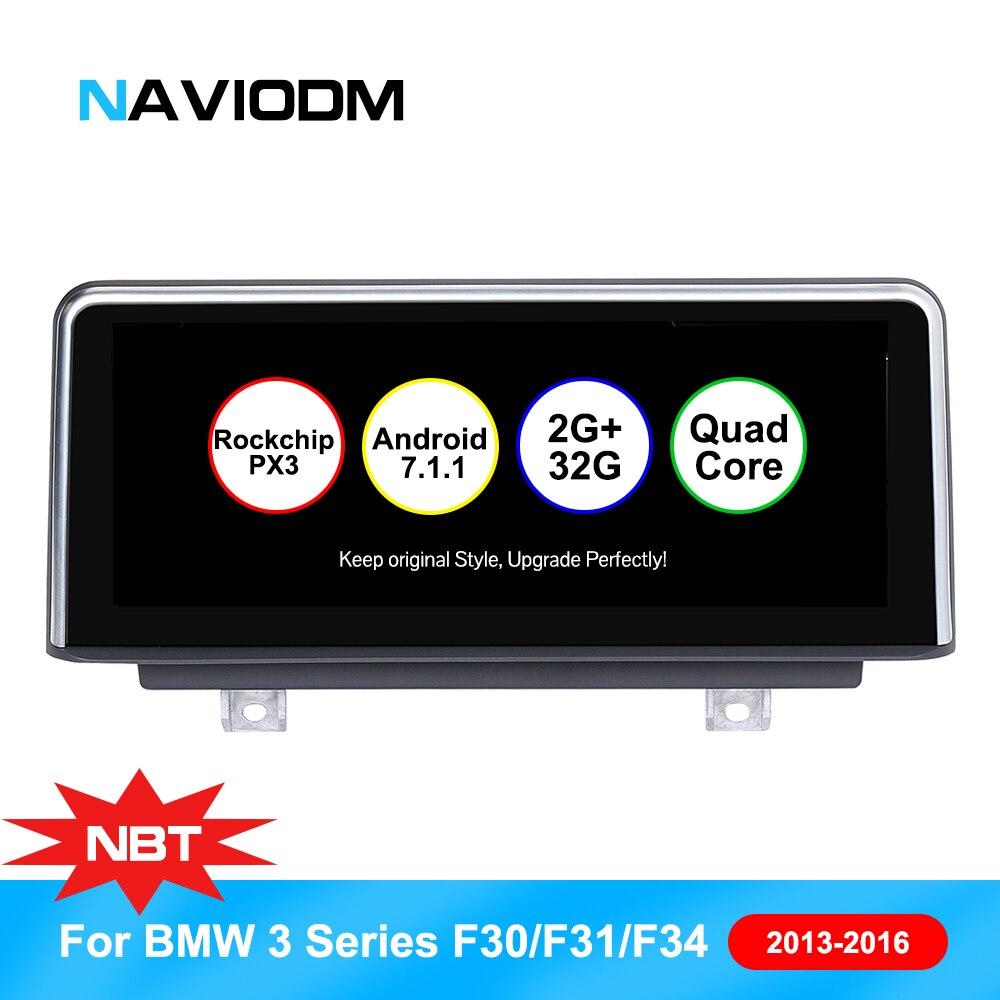 10.25 pollice Android 7.1 Lettore di Navigazione Per Auto Auto Multimedia sistema Intelligente per BMW 3 Serie F30 F31 F23 F32 F33 f36 Car Audio GPS