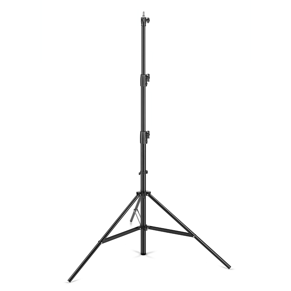 AMBITFUL 280cm Air Cushioned Light Stand 1 4 and 3 8 Screw Air Pressure Light Stand