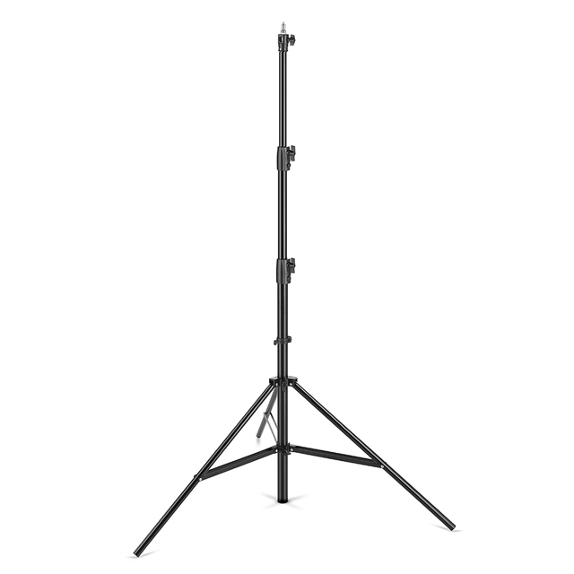 """AMBITFUL 280cm support de lumière à coussin dair 1/4 """"et 3/8"""" support de lumière à pression dair à vis support Supportable pour Flash de Studio"""