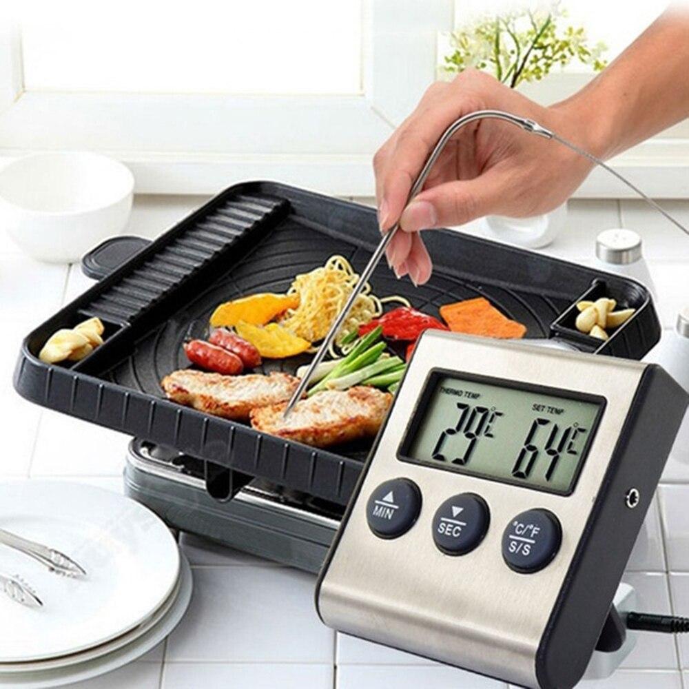Датчик для измерения температуры мяса барбекю конструкция места для барбекю