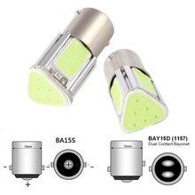 1157 COB светодиодный автоматический стоп-сигнал автомобиля светодиодный лампы Задний Поворотная сигнальная лампа Парковка хвост свет 12В, производство Китай