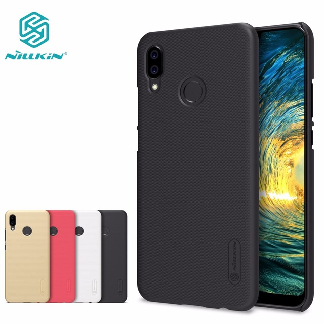 best service d347d 7e35a US $7.19 5% OFF|Huawei P20 Lite Case Huawei P20 Pro Plus Cover NILLKIN  Super Frosted Shield matte hard back cover-in Half-wrapped Case from  Cellphones ...