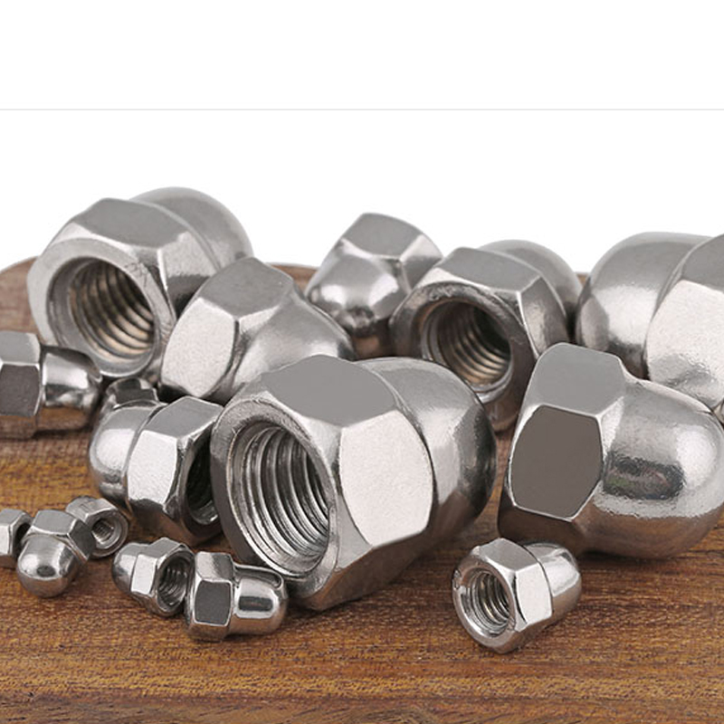 Stainless steel cover nut hex domed cap nut Decorative cap M4 M5 M6 M8 M10