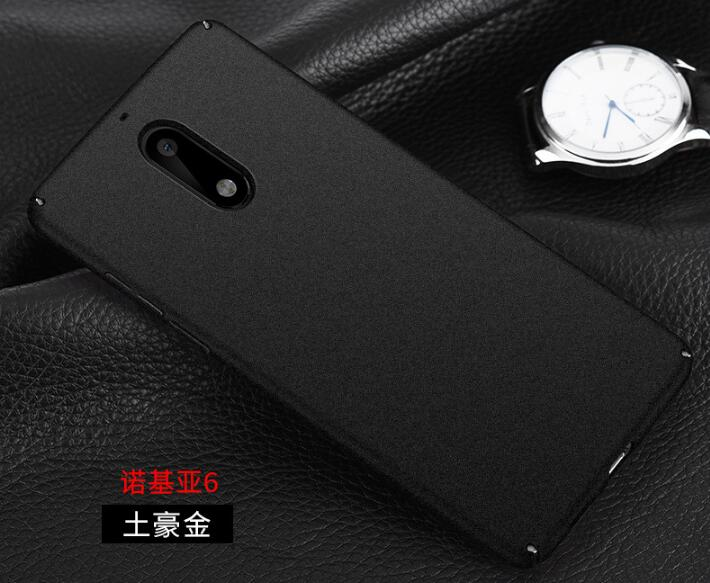 for nokia 6 Case 360 Degree Protective Plastic Cover Case For nokia 6 Matte cover #0388 with Tracking Number