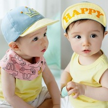 """Embroidered Crown and """"Happy"""" Baby's Baseball Cap"""