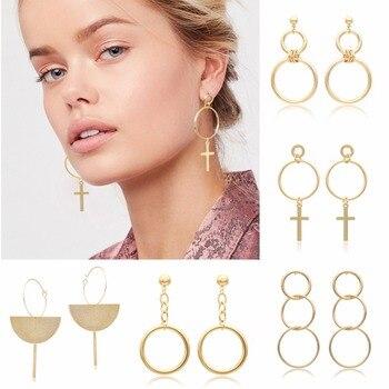 Women Design Hoop Earring Fashion Jewelry