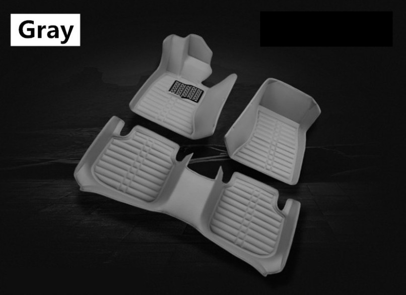 Auto Floor Mats For Hyundai TUCSON 2005-2014 Foot Carpets Step Mat High Quality New Water Proof Clean Solid Color Mats
