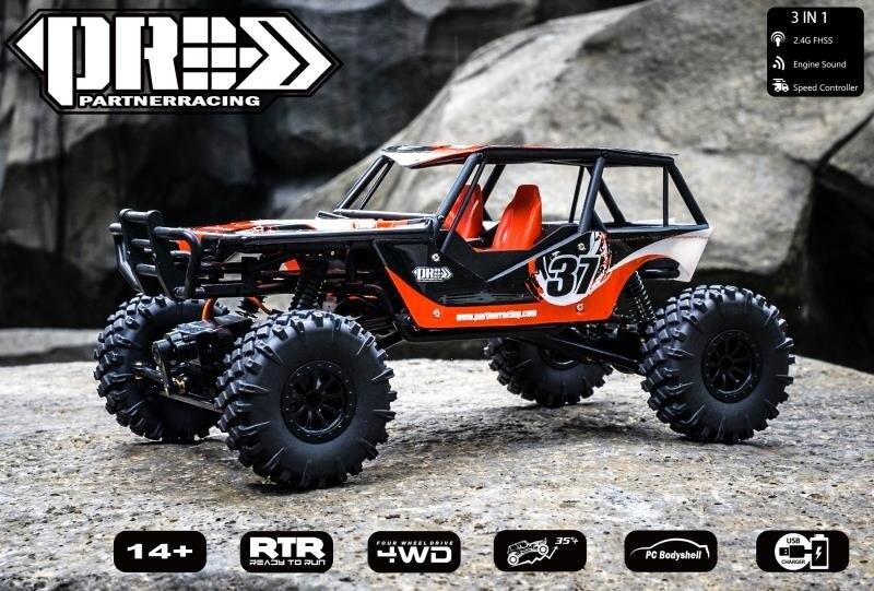 PRC 1/18 RC автомобиль 4WD Rock Crawlers 4x4 вождение автомобиля мини настольный альпинистский автомобиль пульт дистанционного управления внедорожный а