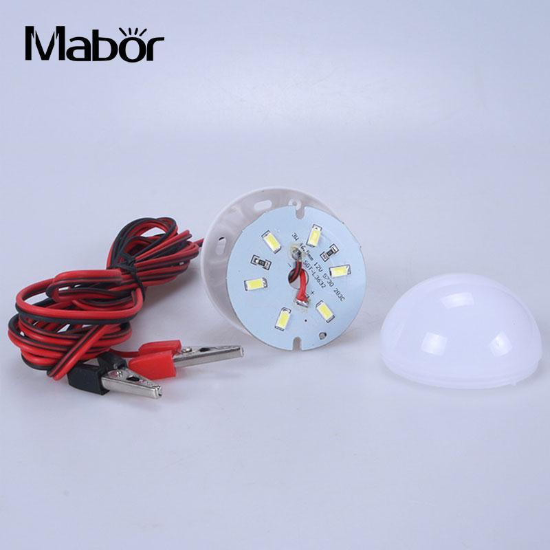 DC 12V LED 3W Bulbs Lamp Lighting Fixture Night Emergency Outdoor Light