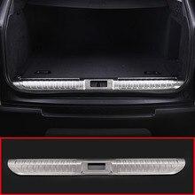 Нержавеющаясталь сзади внутренние двери бампер защитник пластина Накладка для Land Rover Range Rover Sport 2014-2018 автомобильные аксессуары