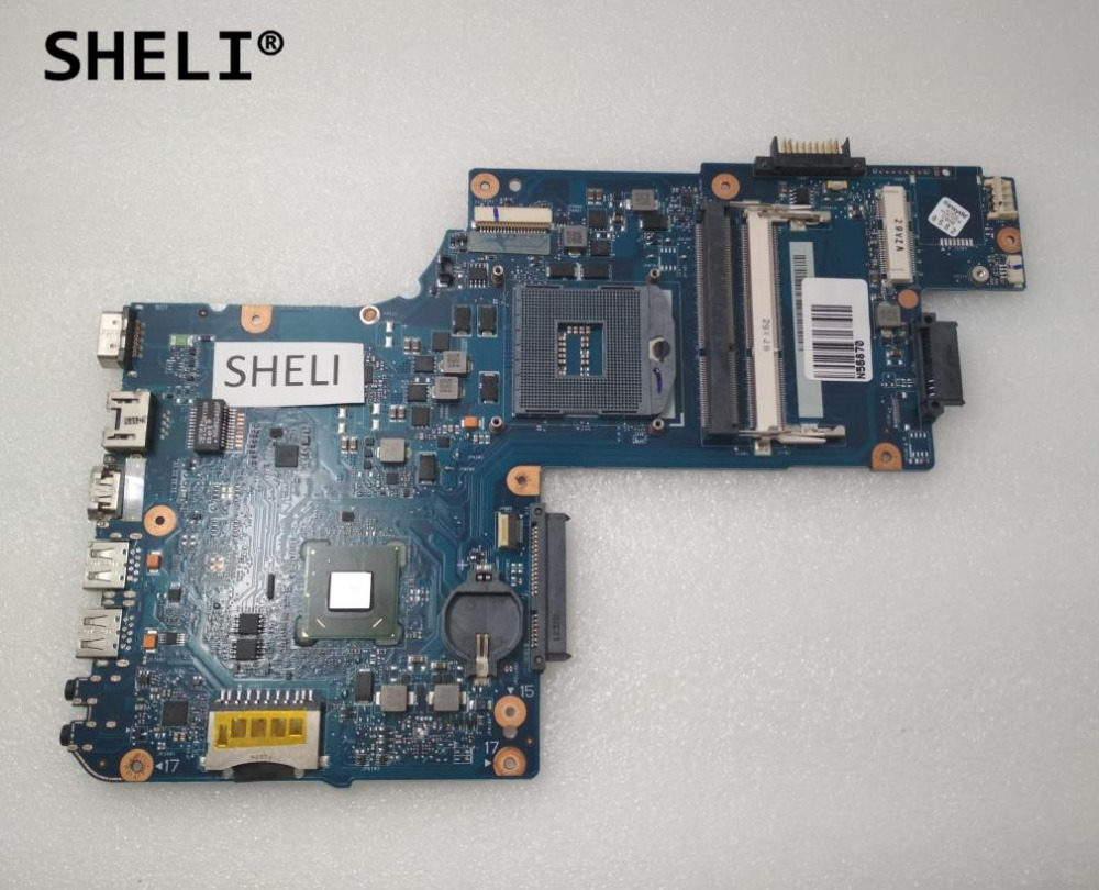 SHELI For Toshiba C850 L850 font b Motherboard b font Integrated H000052700
