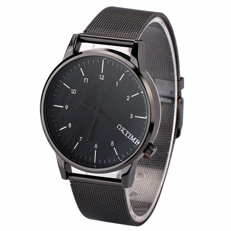 Fashion Wach Top Brand Luxury Watches Men Stainless Steel Strap Quartz Watch Ultra Thin Dial Clock Man Relogio Masculino montre 10pcs lot a2430 hcpl 2430 sop 8 optical coupler oc optocoupler