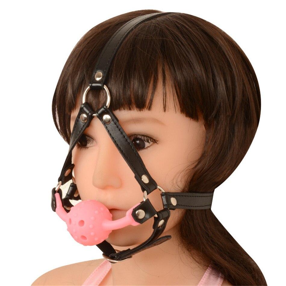 Adult Sex Products Bondage Mouth Gag Submissive Toy Sm Bondage Restraint Sm Play Ball Ggag Bondage