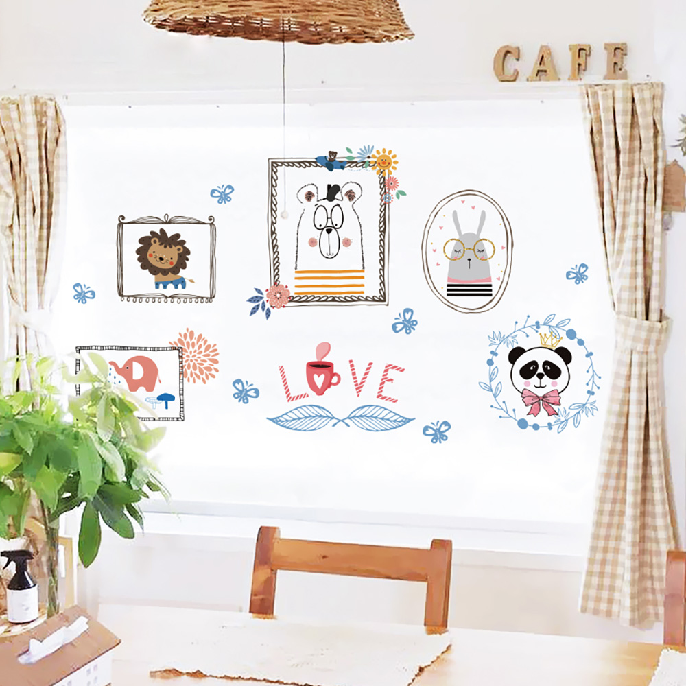 Study Room Decoration Diy: Fairy Tale Town Wall Sticker Home Decor DIY Removable For