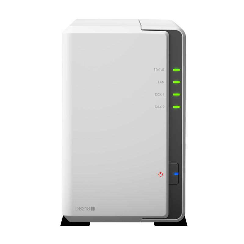 Synology NAS Disk Station DS218j 2 bay diskless nas server nfs network storage cloud storage 2
