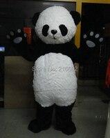 Для взрослых размеры Новая версия китайский гигантская панда маскоты костюм Необычные костюмы для косплея хэллоувечерние