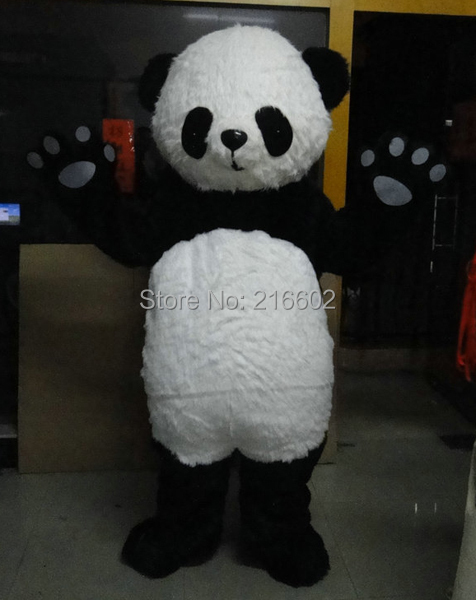 Adult size New version Chinese Giant Panda Mascot costume fancy cosplay costumes for Halloween party event