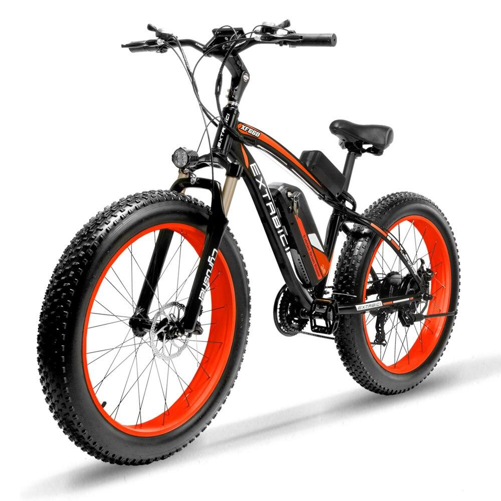 Cyrusher XF660 1000 W suspension complète E vélo gros pneu 21 vitesses mécanique frein à disque vélo électrique