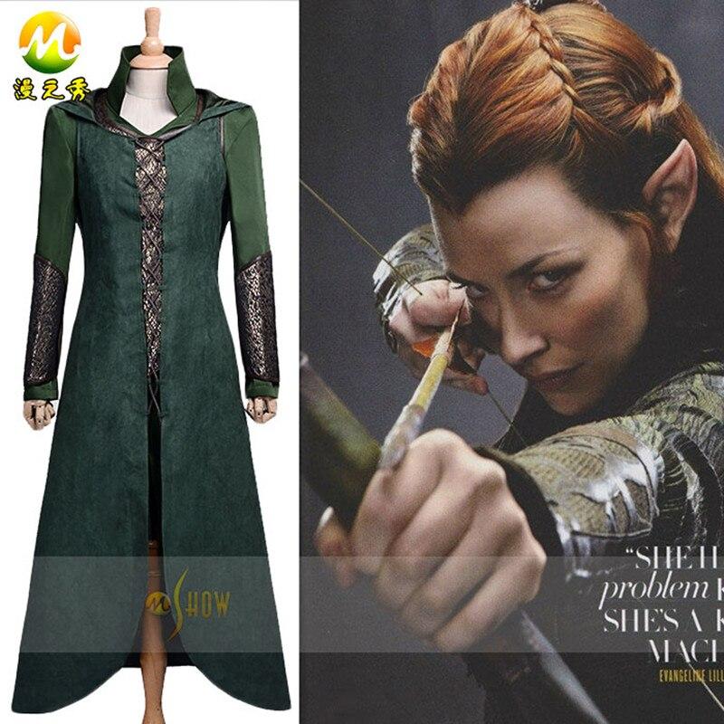 27442b16c3 Najwyższa Jakość Hobbit Tauriel Tauriel Cosplay Kostiumy Kostium Dla Kobiet  Halloween Carnival Party Cosplay Costume