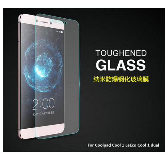 wholesale dealer ceefd 4363d 0.3mm 9H tempered glass For Coolpad Cool 1 LeEco Cool 1 dual screen ...