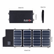 ELEGEEK 26W 5V SUNPOWER Folding Solar Panel Charger