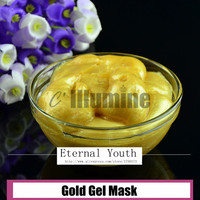Folha de ouro Máscara de Gel Anti-Rugas de Clareamento Clareamento Reposição Salão de Beleza Limpeza Profunda 200g