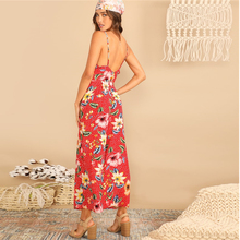 Women's Colorful Floral Jumpsuit