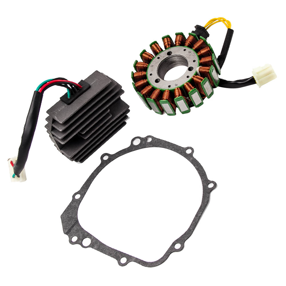 Stator & Regulator Rectifier fit for Suzuki GSXR600 GSX R660 01 03 Magneto Generator Electrical Stator Coil 24 hours delivery