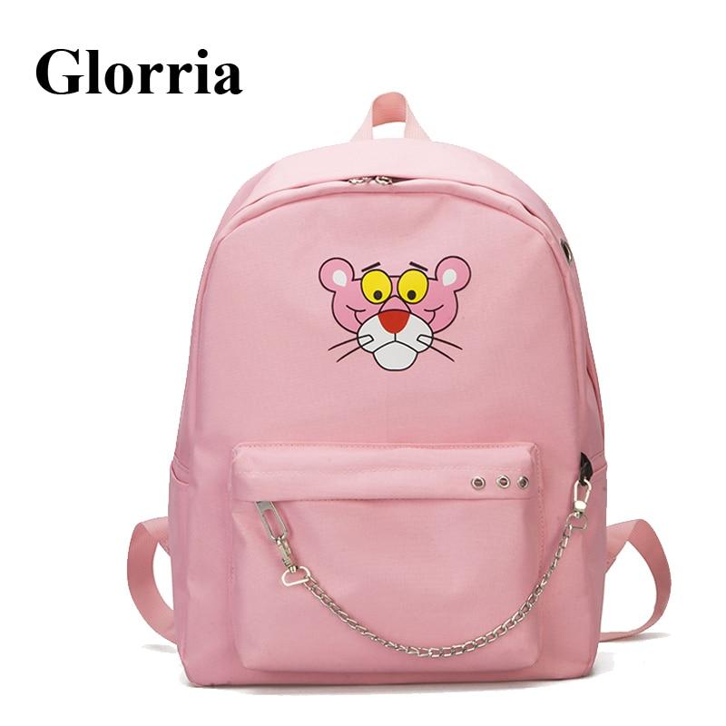 Glorria Cute Nylon Backpack Women Bags Schoolbags  Women  Anime Female Travel Backpack  Mochila Feminina