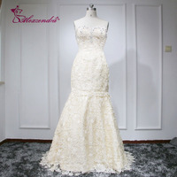 Mother of the Bride Dresses with Shawl 2016 Lace Mermaid Sweetheart Beads Appliques Mother Gowns Floor Length MK08L71