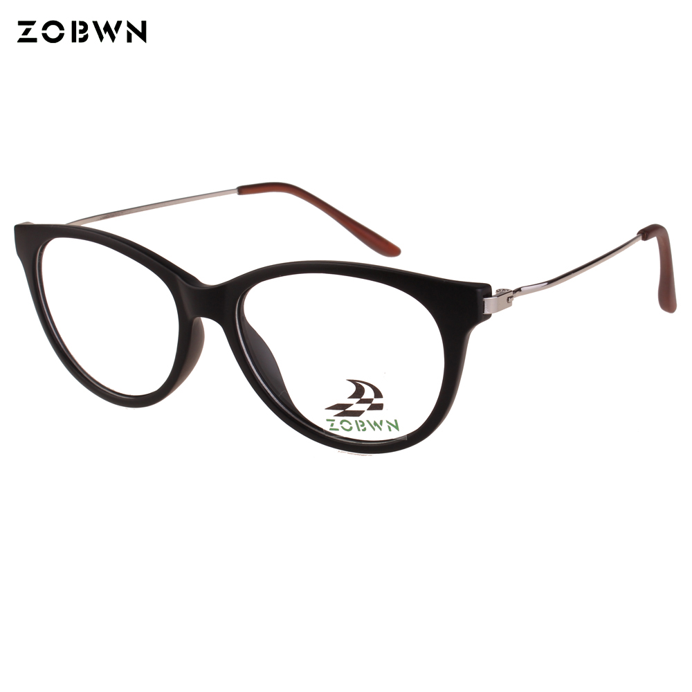 Fio ZOBWN templos Eyewear Óculos Oculos mulheres Óculos senhoras óptico  super leve Feminino femininos super fino preto do vintage em Armações de  óculos de ... 8487407756