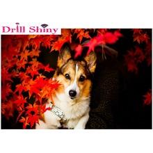 Dog,Diamond Embroidery,5D,Full,Cross Stitch,Diamond Painting,Crystal,Rhinestone,Mosaic,Animal,DIY,Home Decoration,Art,Crafts