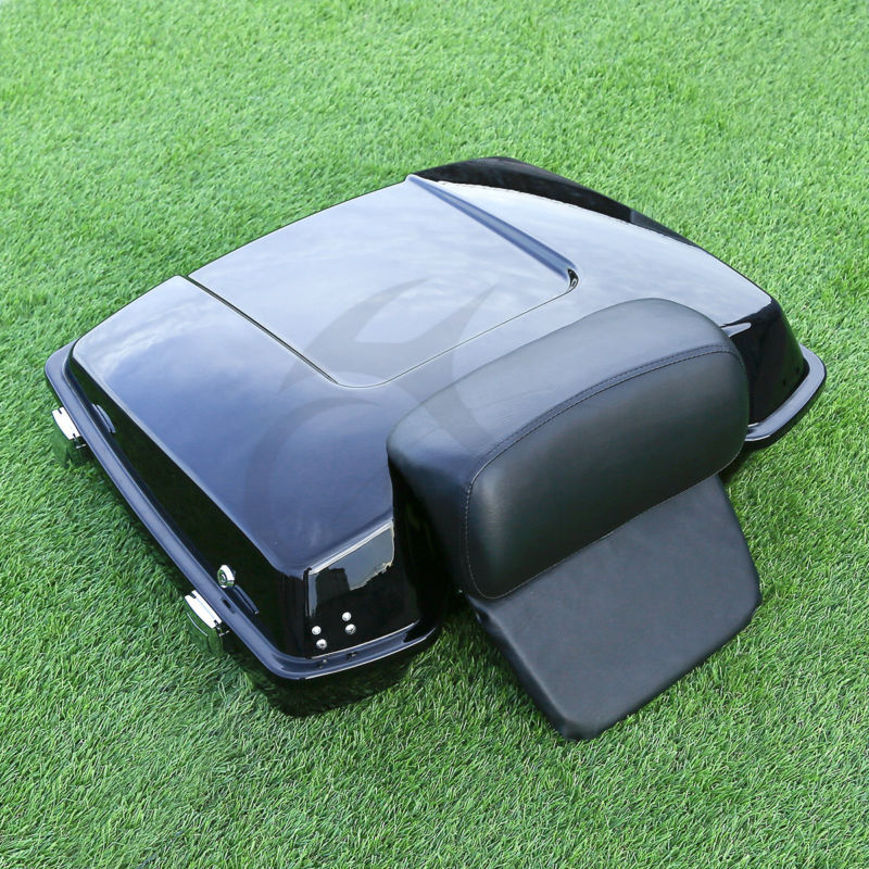 5.5 Tour Pak Pack Trunk For Harley Touring Road King Electra Glide 1997-2013 12 tour pak pack trunk insert carpet liner for harley touring road king glide electra street glide14 16