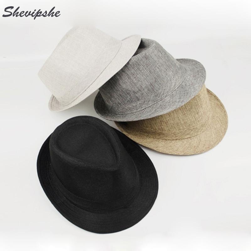 Moda Cappelli da Donna Fedora Trilby Gangster Cap Estate Sun Della Paglia  Panama Cappello Vintage Retro Danza Jazz Spiaggia Cappello Visiera Uomini  in Moda ... 59ef236363e9