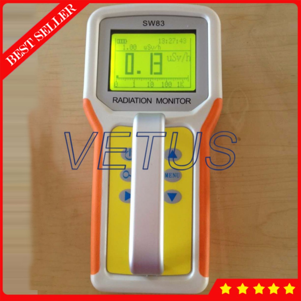 Professional Radiation Survey Meter SW83 with Portable Nuclear Radiation Detector