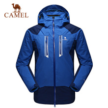 Camel for outdoor Men outdoor jacket windproof thermal outdoor jacket three-in twinset